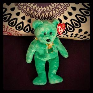 2003 Ty Beanie Babies Killarney the Bear with Tag